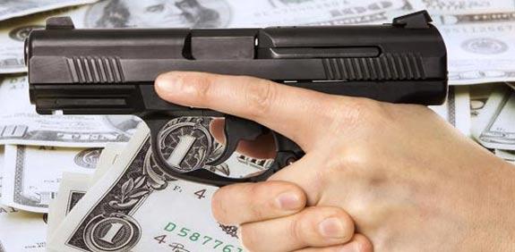 אקדח דולרים / צלם: פוטוס טו גו